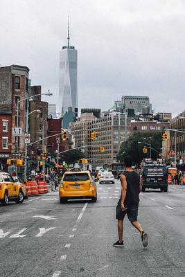 NYC: street scene - example preset