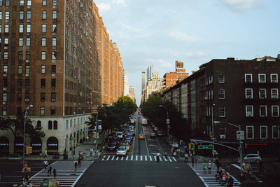 NYC: The Highline golden hour - example preset