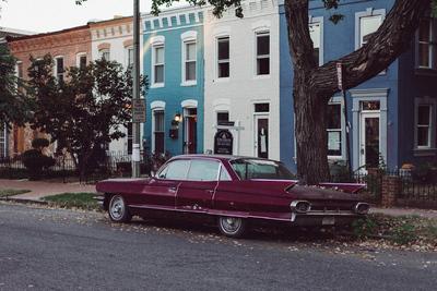Old car in Washington, DC - example preset