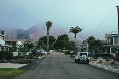 Morning view in Pismo (California, USA) - example preset