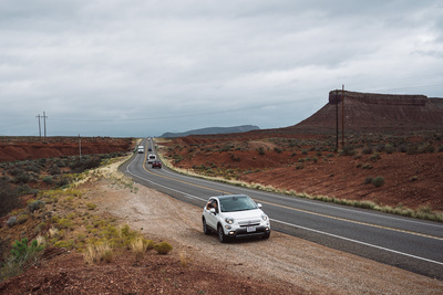 On the road (Utah, USA) - example preset
