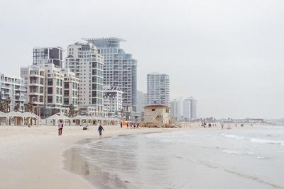 Tel Aviv winter beach - example preset