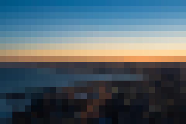 Sky, water, afterglow, dusk (ik4dy3fd) - example preset