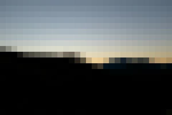 Sky, mountain, natural landscape, afterglow (xccxqjr1) - example preset