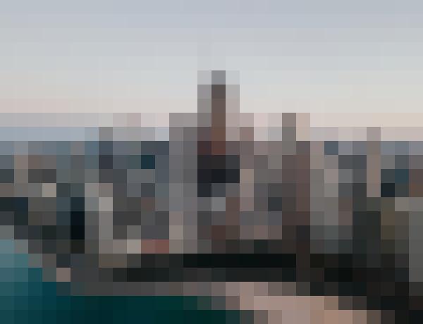 Water, sky, skyscraper, building (zxinvrhf) - example preset