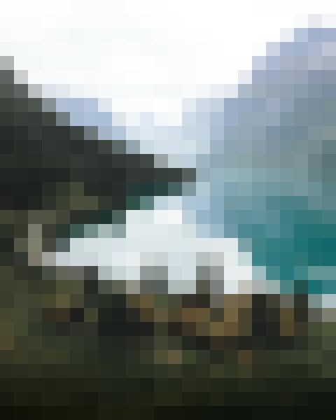 Water, sky, cloud, mountain (izz2nahb) - example preset